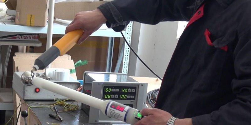 Powder coating machine repair