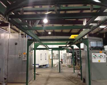 Automated Powder Coating Lines