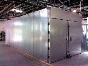Powder coating equipment reliant finishing systems