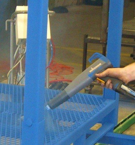 Box-fed Powder Coating Gun