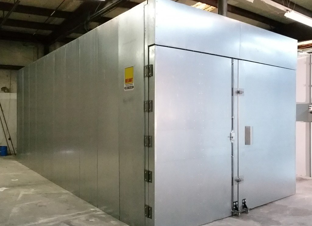 Batch Powder Curing Oven From Reliant Finishing Systems