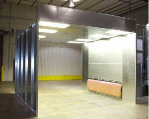 powder-spray-booth-crossflow-configuration