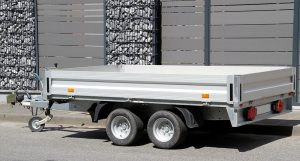 Outdoor Powder Coating On Trailers