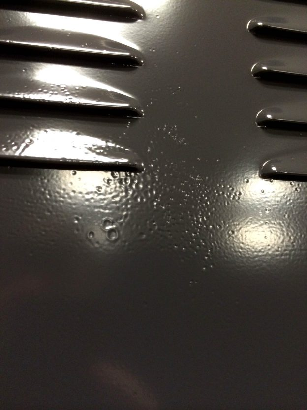 Resolving Powder Coating Pinhole Problems