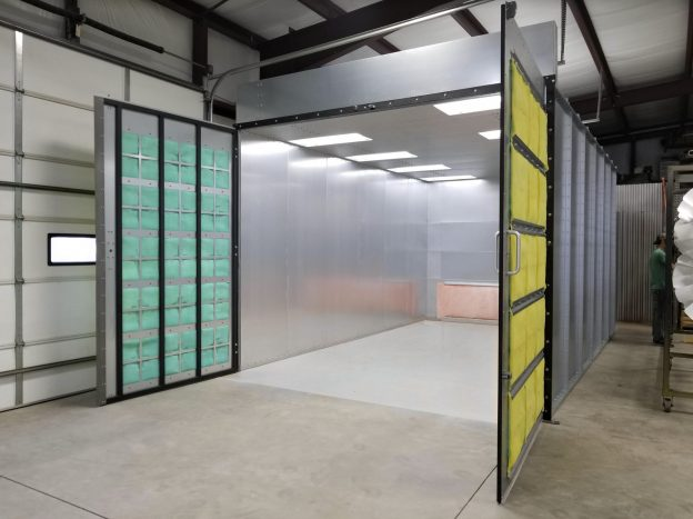 Powder Coating Booth