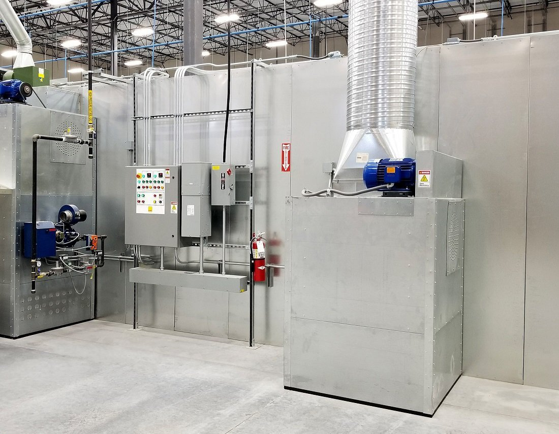 automated curing oven