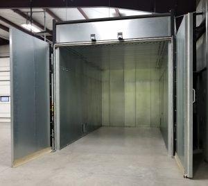 Powder Coating Oven Door Upgrades