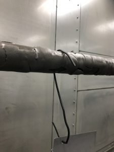 Dirty Rack Powder Buildup